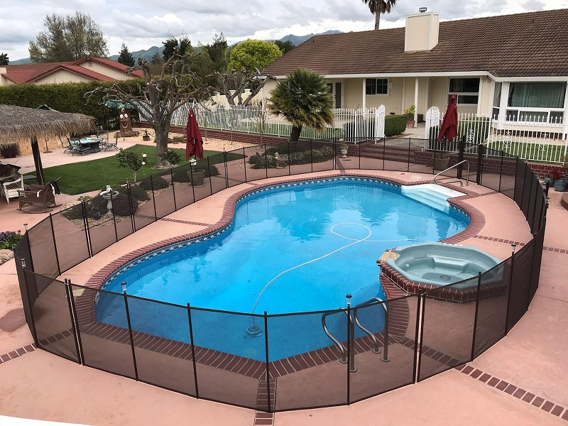 pool fence installed in Hollister, CA